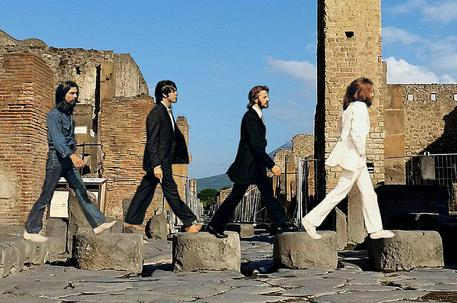 Pompei ricorda i Beatles