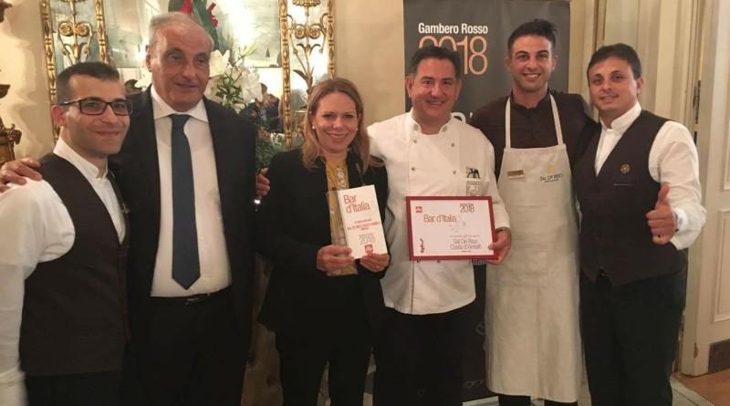 Guida Bar d'Italia del Gambero Rosso - la squadra di De Riso