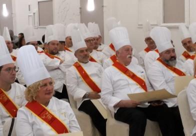 INTRONIZZATI AL CASTELLO SANTA CATERINA 52 NUOVI DISCEPOLI DI ESCOFIER.