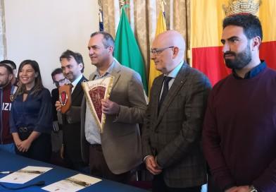FIRMATO PROTOCOLLO D'INTESA TRA COMUNE E MINISTERO DELL'INTERNO